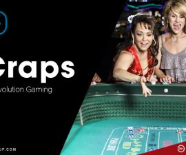 live craps by Evolution Gaming
