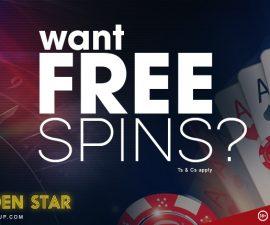 golden star casino offering 100 free spins