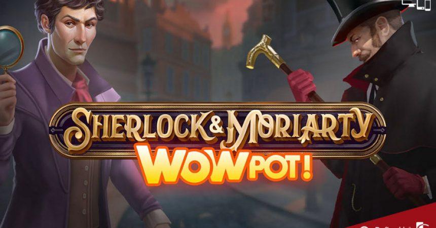 Sherlock and Moriarty Wowpot Slot Microgaming